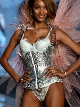 Jourdan Dunn sexy 2014 Victoria's Secret Fashion Show in London 16x UHQ