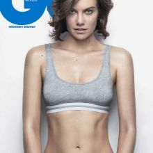 Lauren Cohan sexy lingerie for GQ magazine February 2017 10x UHQ photos